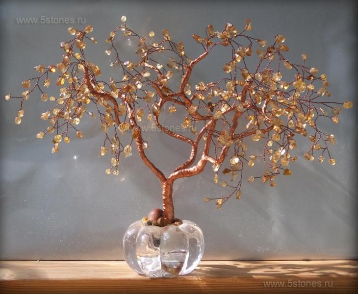 Дерево счастья Медное