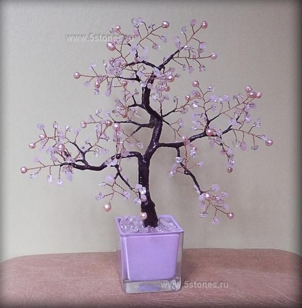 Дерево счастья Розовая фантазия