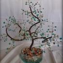 Дерево счастья Лунная бирюза