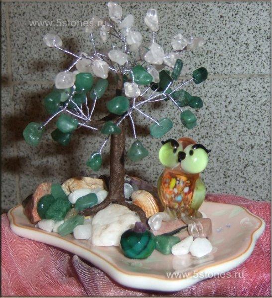 Дерево счастья Совушка
