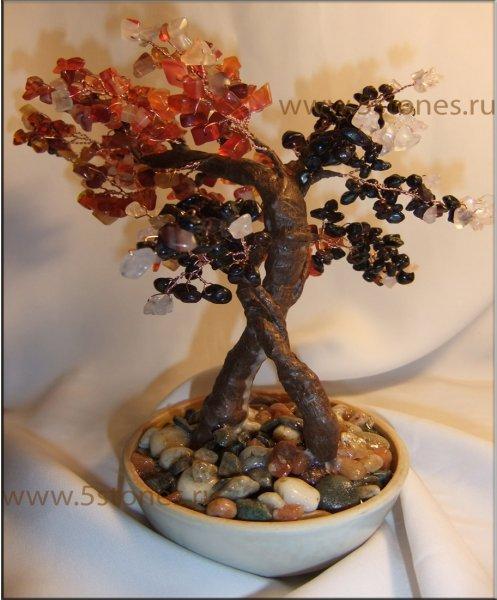 Дерево из камней Переплетение судеб