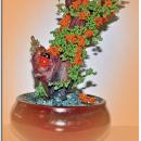 Дерево счастья Оранжевое
