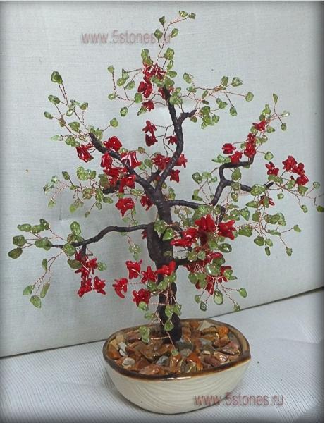 Дерево счастья Коралловая свадьба